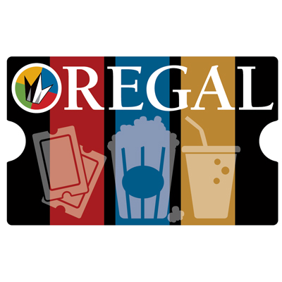 REGAL ENTERTAINMENT GROUP<sup>®</sup> $25 Gift Card - Use this card to go see the latest major motion picture!