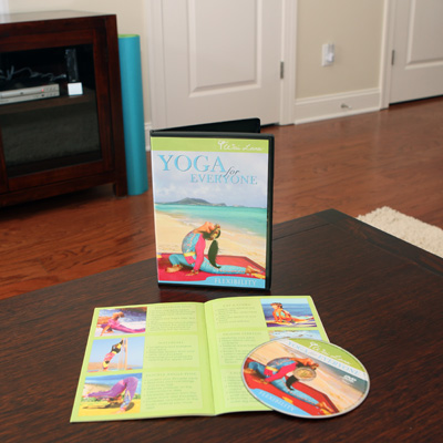 WAI LANA<sup>®</sup> Yoga For Everyone-Flexibility - This DVD leads you through 50 minutes of beginner's yoga to help relieve back, shoulder and neck tension and firm, tone and stretch your entire body.